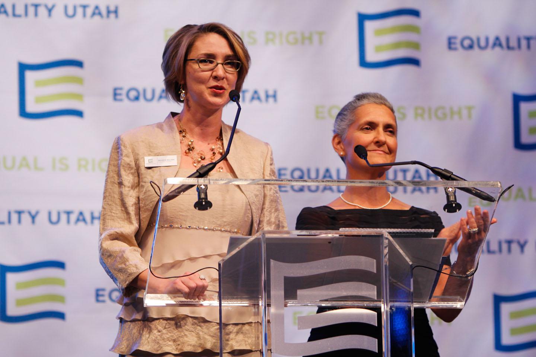 Brandie Balken of Equality Utah