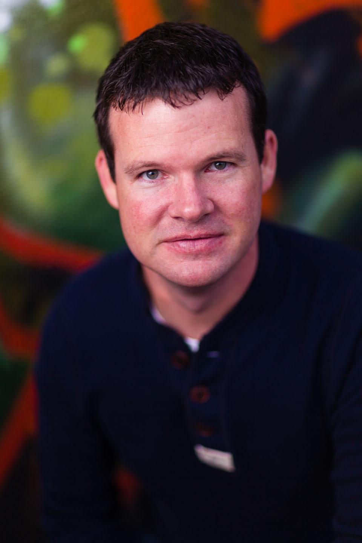 Jordan portrait with graffiti background