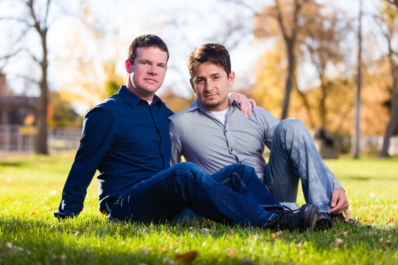 Couple Portraits in Draper Park