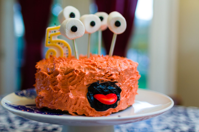 Birthday cake inspired by Pinterest