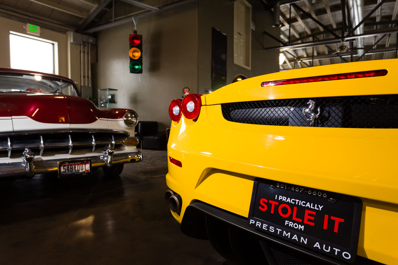 Ferrari and 57 Chevy