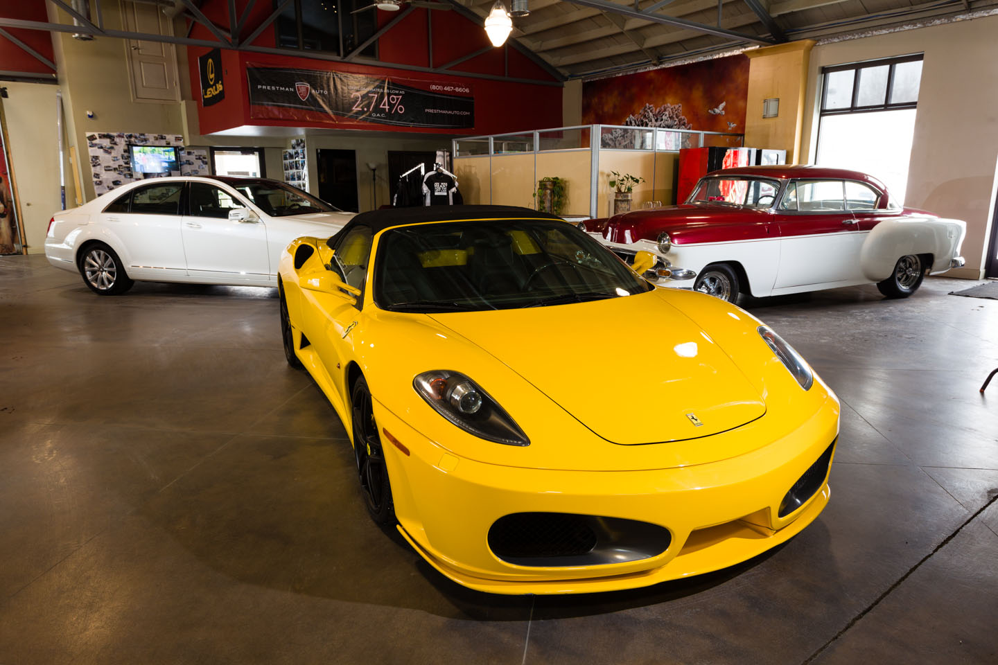 Some amazing vehicles at Prestman Auto