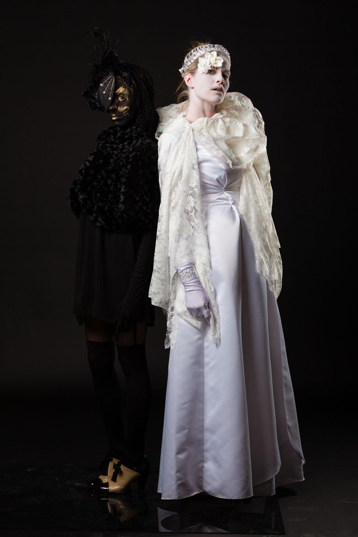 Both models on a black background