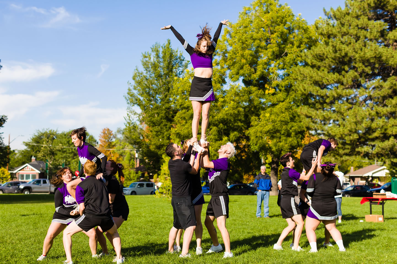 Cheer Salt Lake Perform