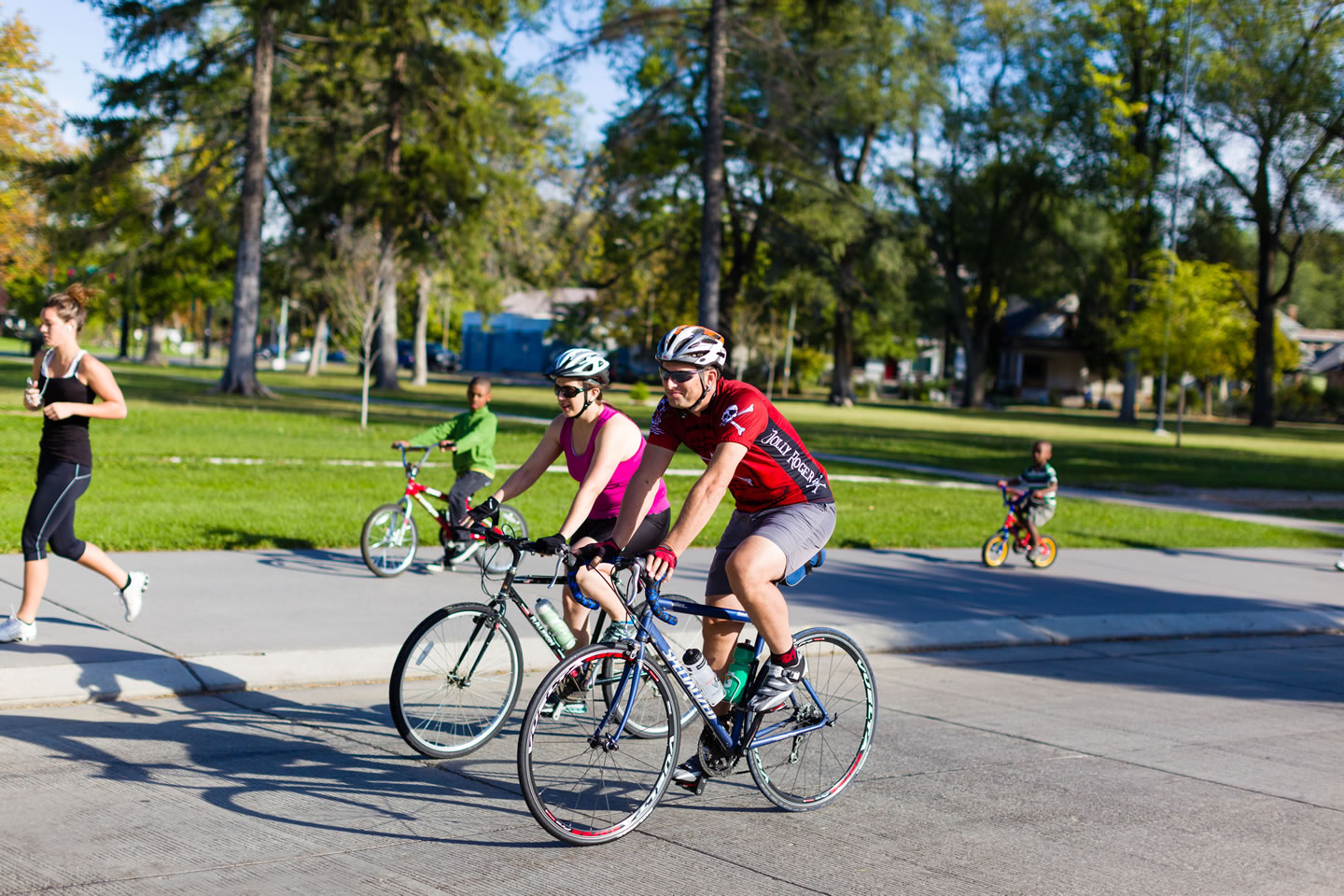 Cyclists start their journey on the Ride for Life