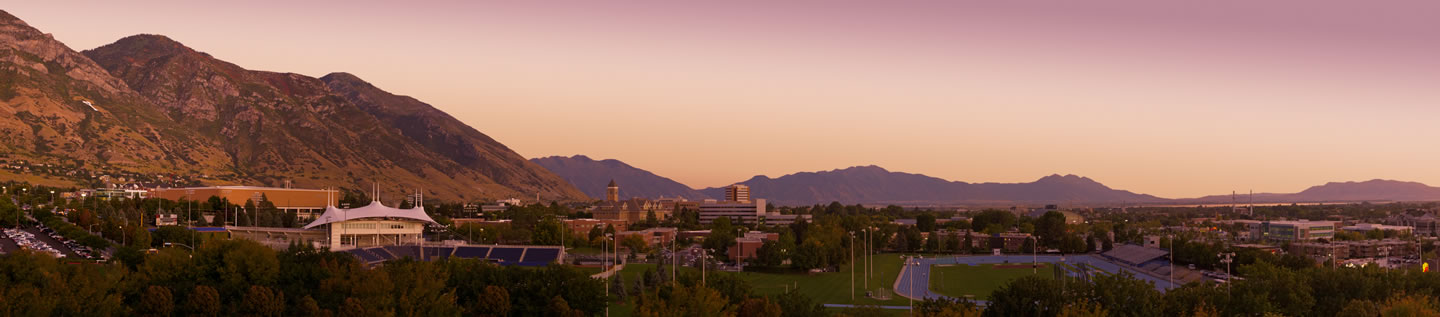 Panorama View of Brigham Young University