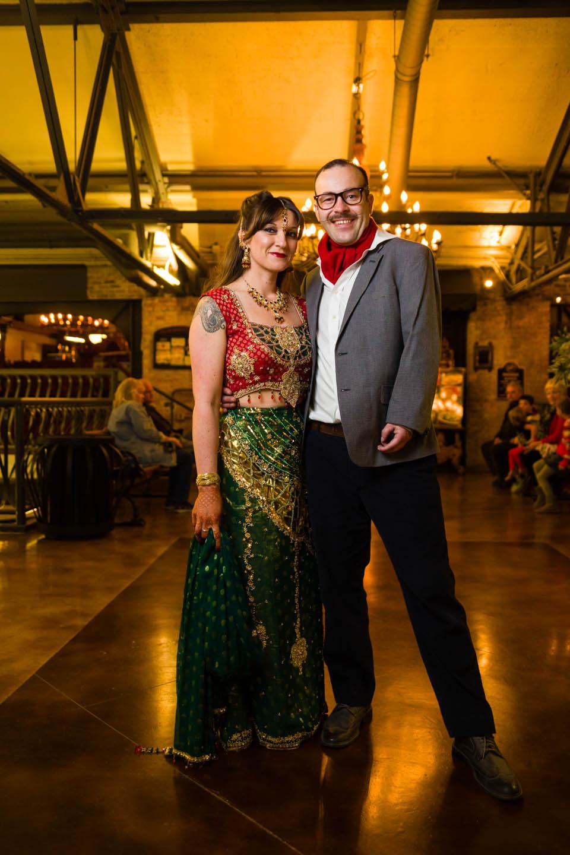 Formal wedding photos