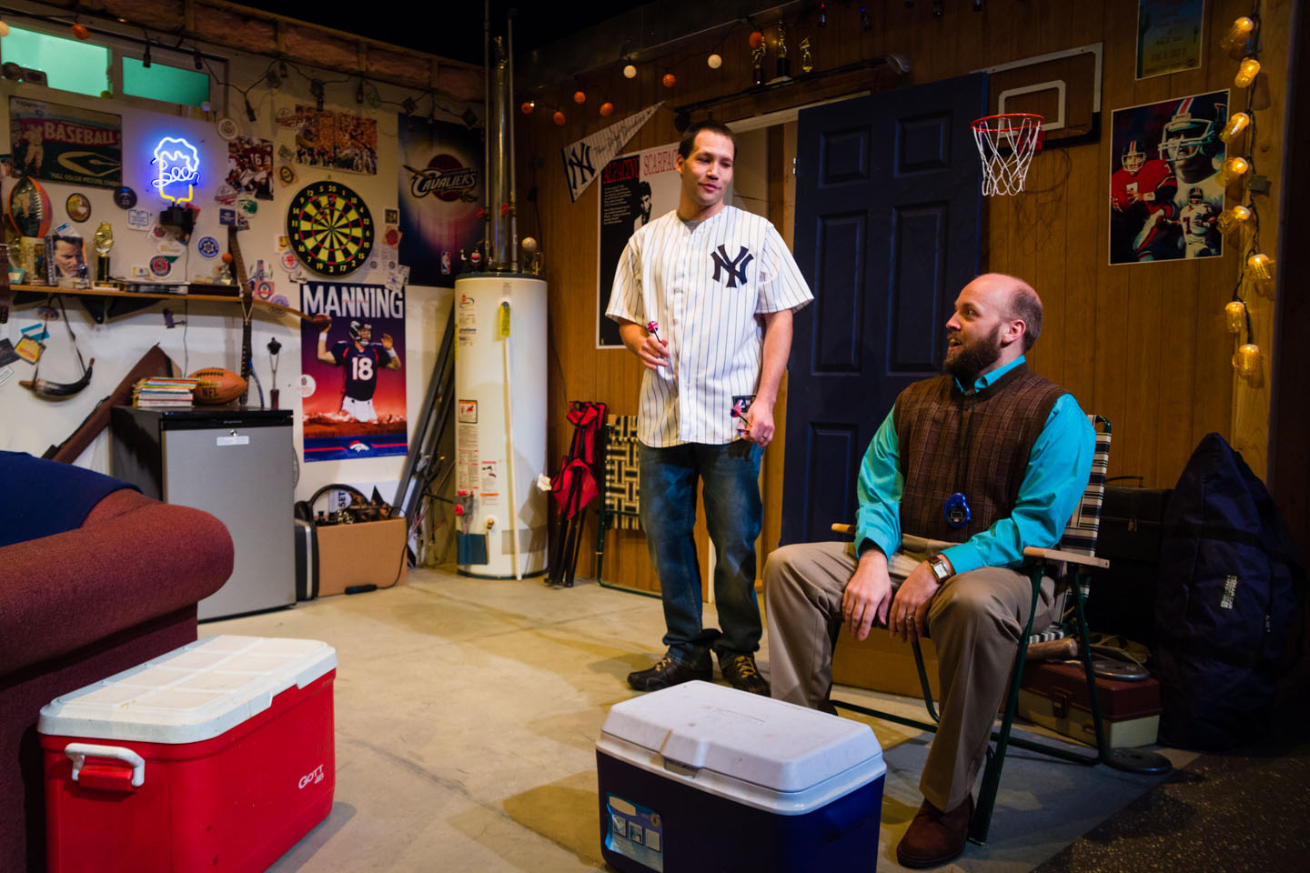 Manning Up by Salt Lake Acting Company