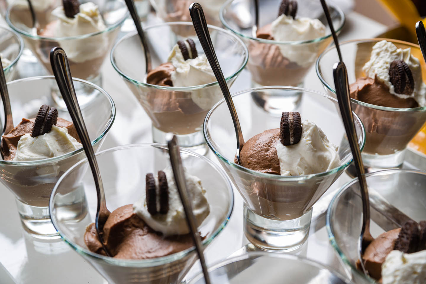 Chocolate Mousse with Oreos