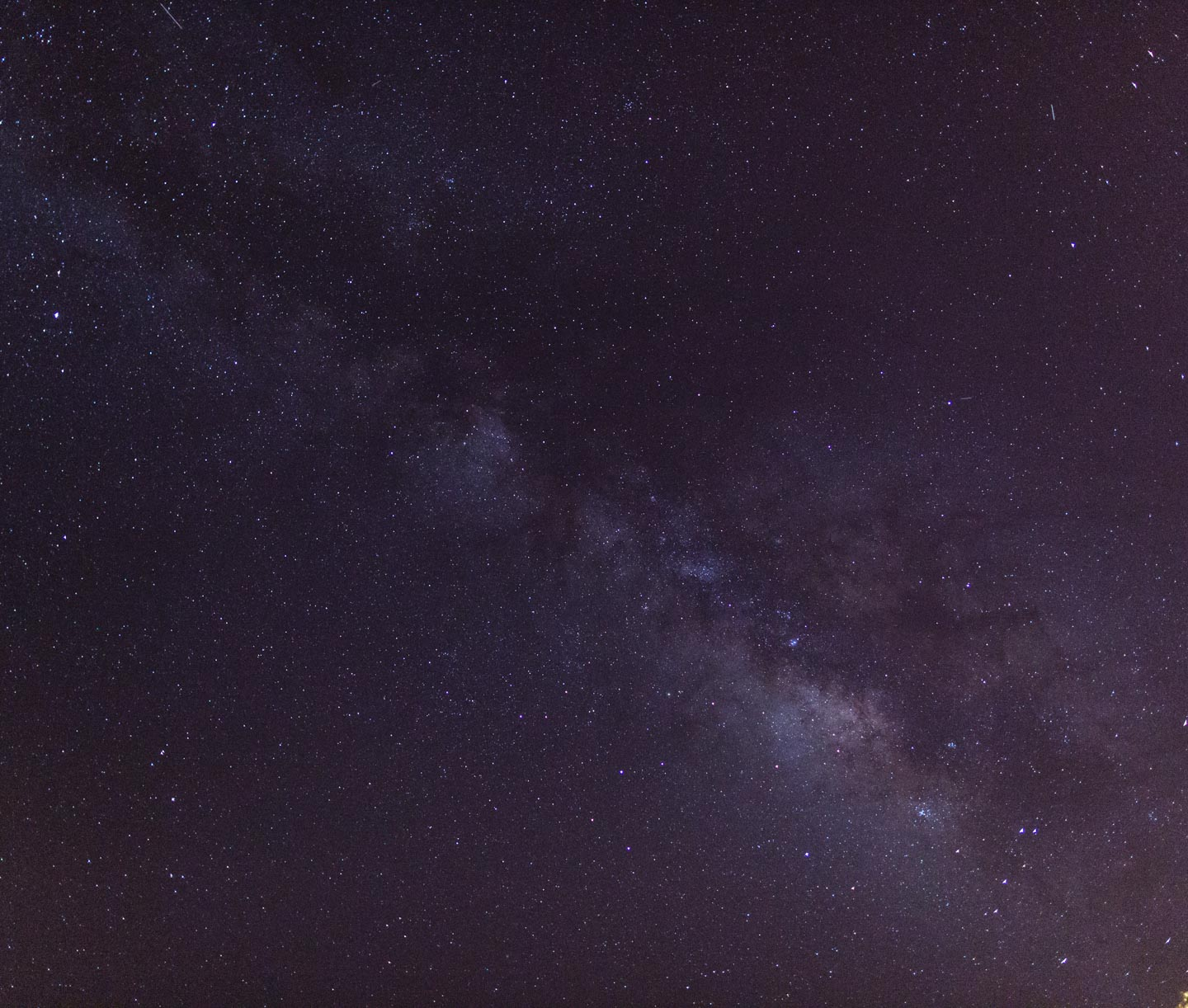 Milky Way Galaxy over Texas