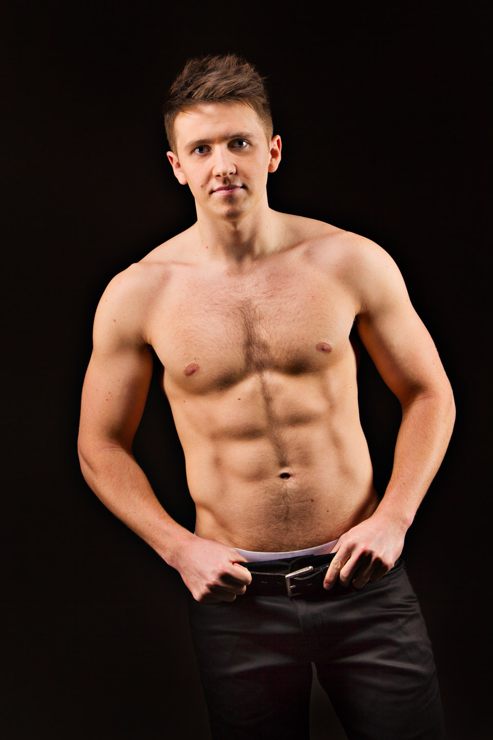 Some shirtless male model photo