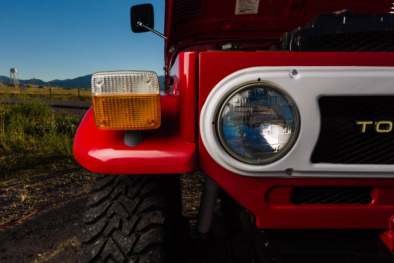 Headlight for Toyota Land Cruiser