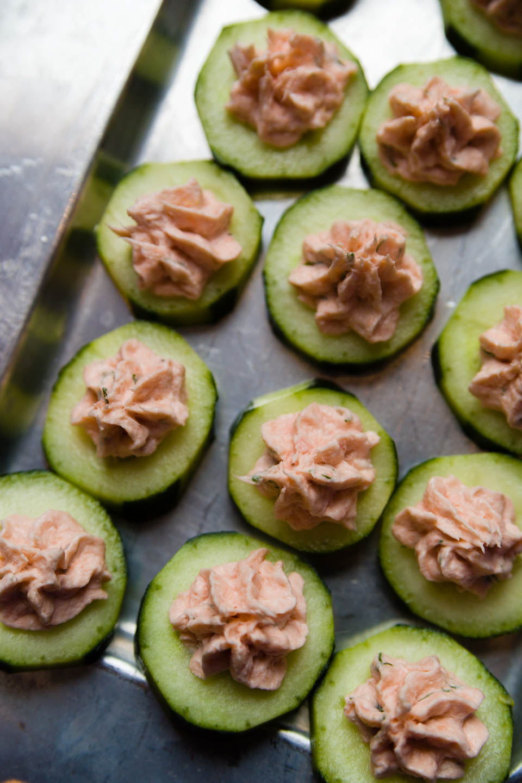 Cucumber Horderves