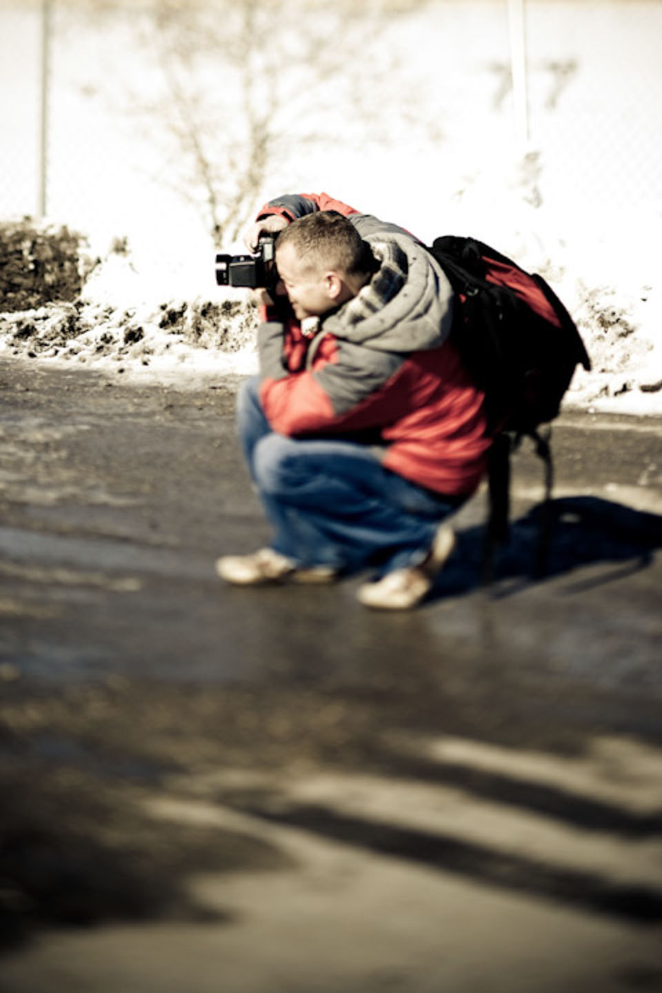 dav.d photographing in Lehi during a photo walk