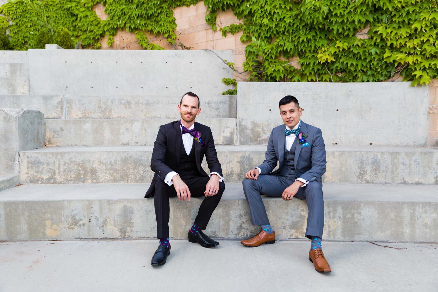 Formal portraits with the groom