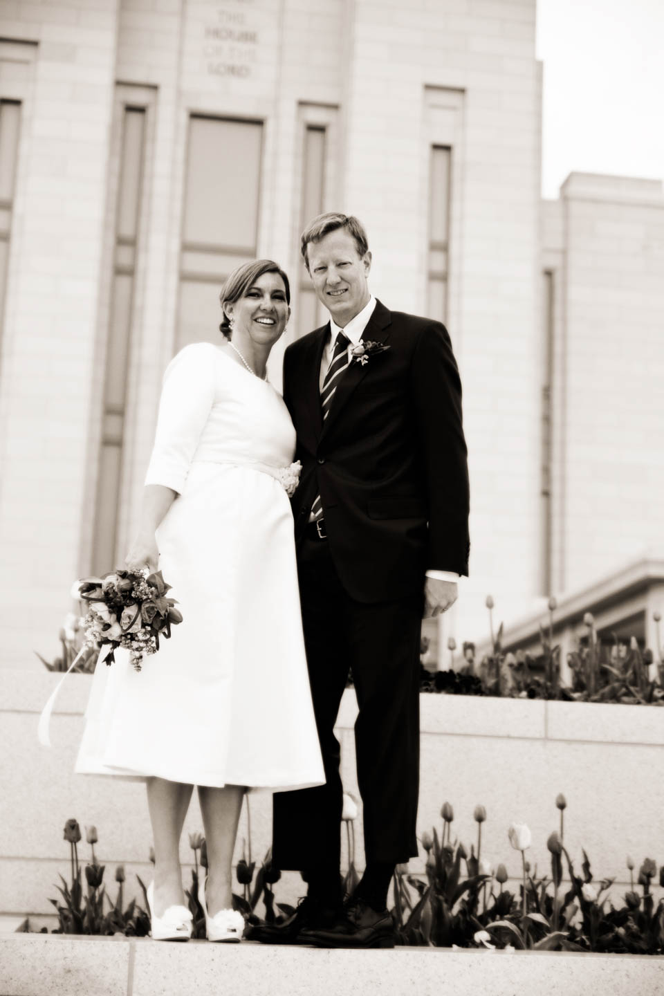 Formal wedding photography