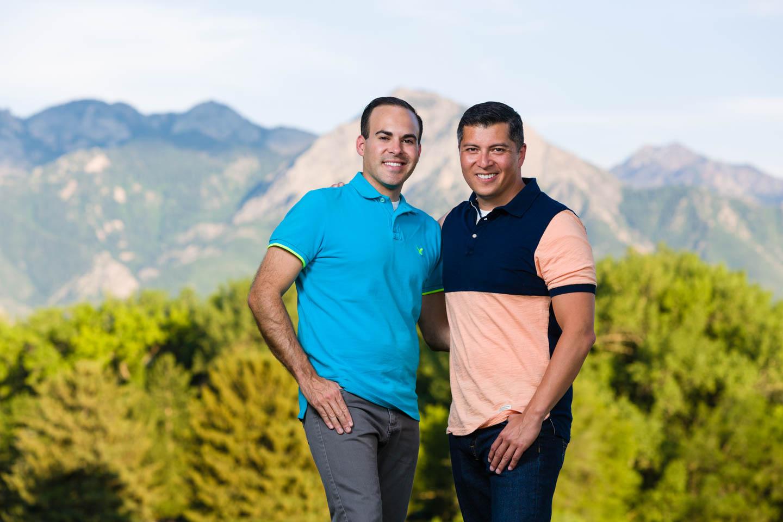 Mauro and Sebastián