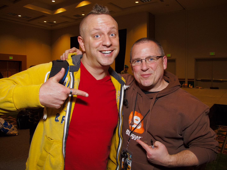 dav.d and David Hobby the Strobist