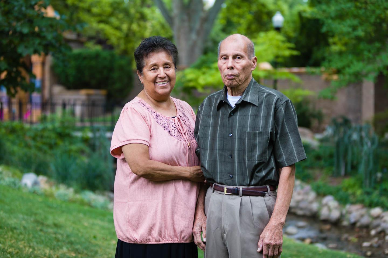 Gusman family photos in Garden Park Ward in Salt Lake City