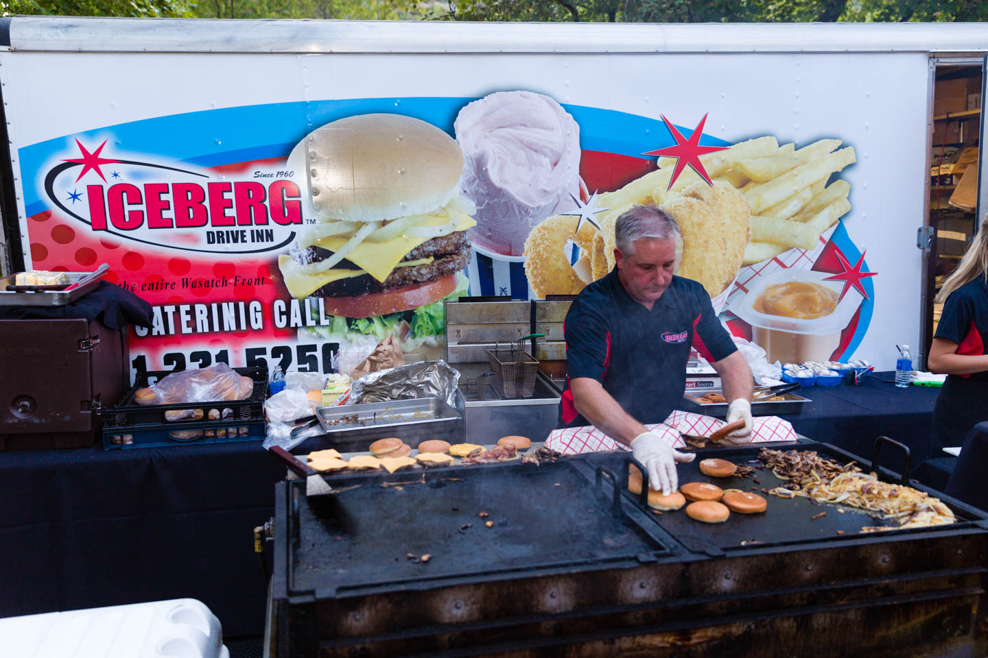 Iceberg catered an event I photographed
