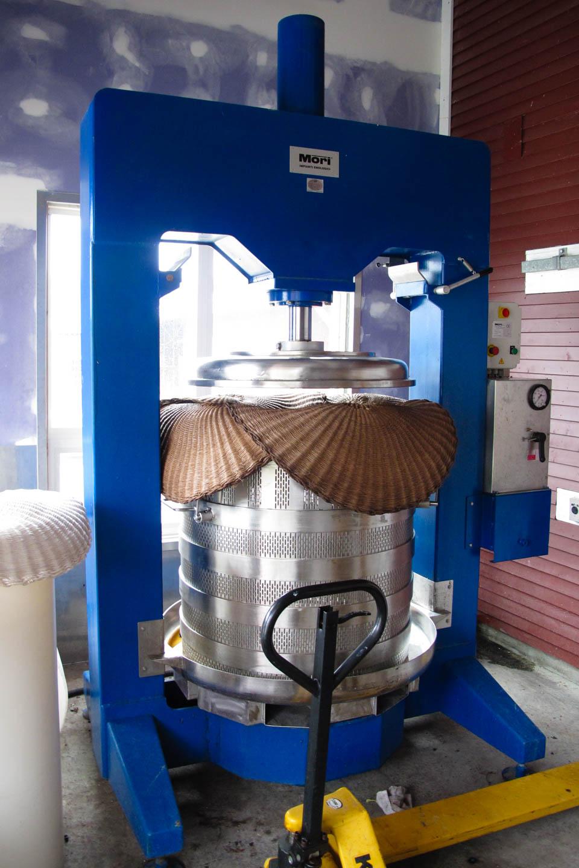 Modern wine press