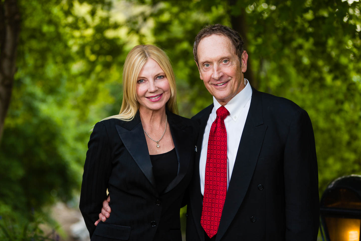 Plastic surgeon and wife