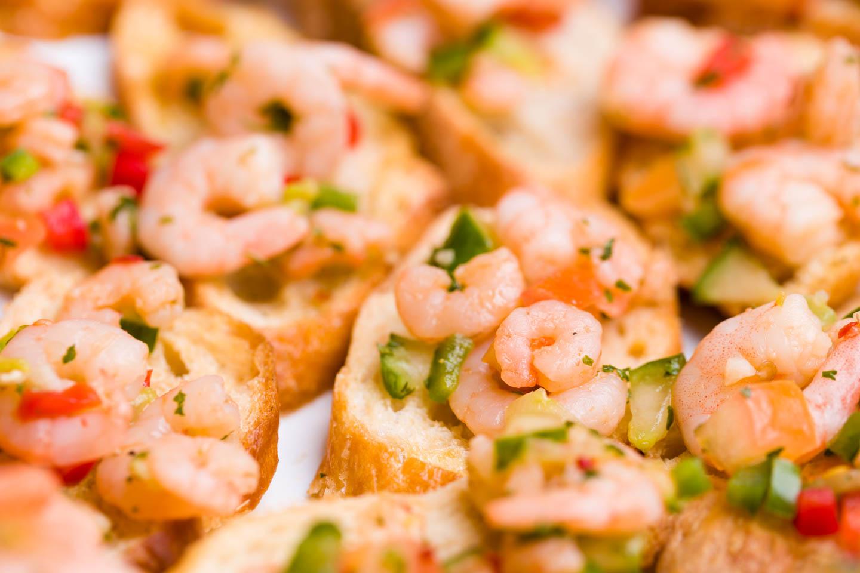 Shrimp h'orderves
