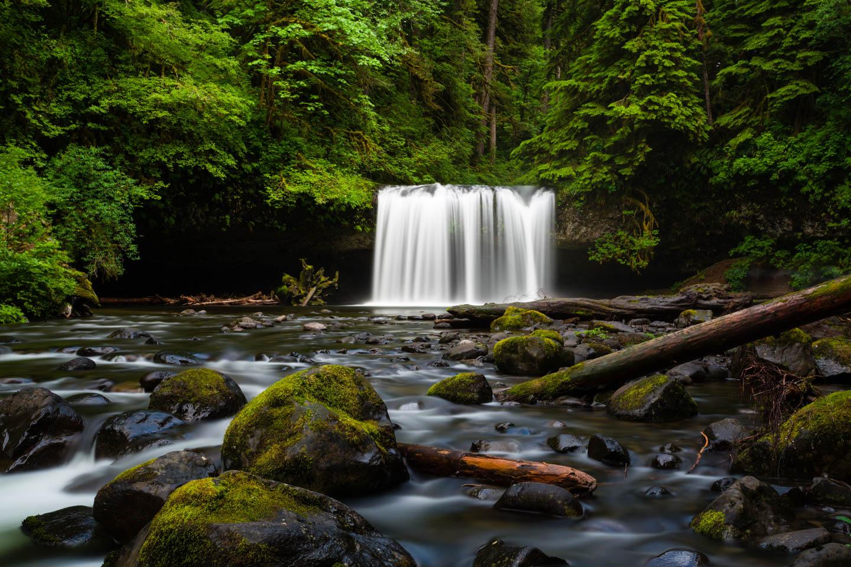 Upper Butte Creek Falls in Oregon