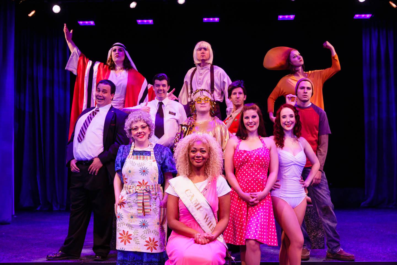 Cast of Saturday's Voyeur