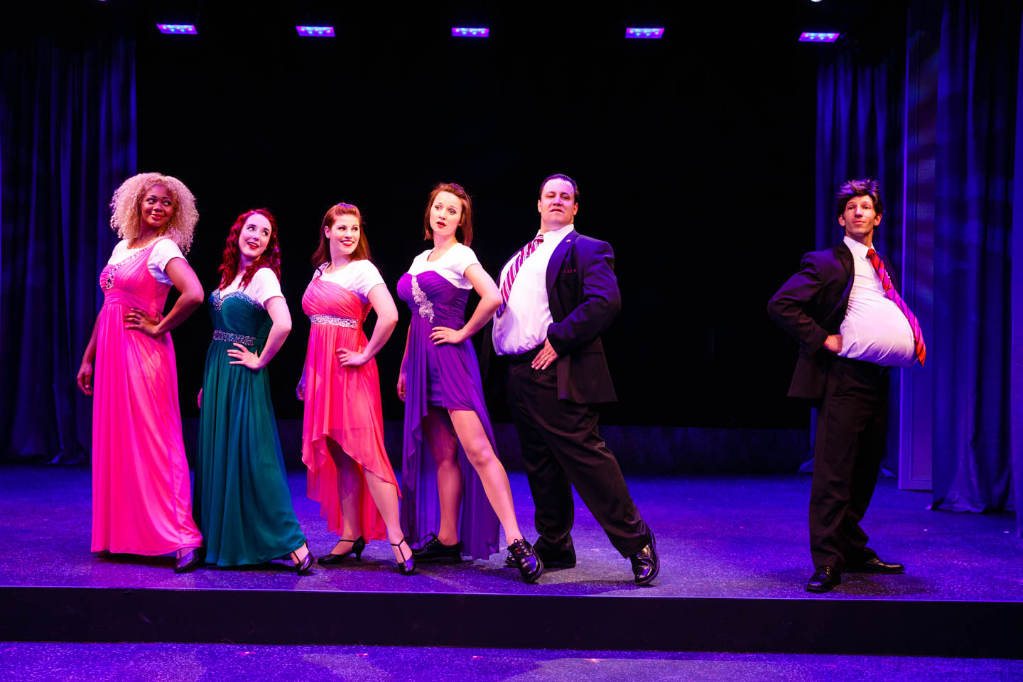 Musical number for the modesty beauty pagent