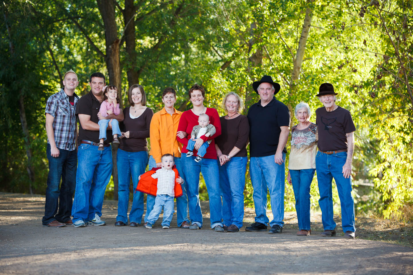 Wheeler Farm is a great location for family portraits and photographs