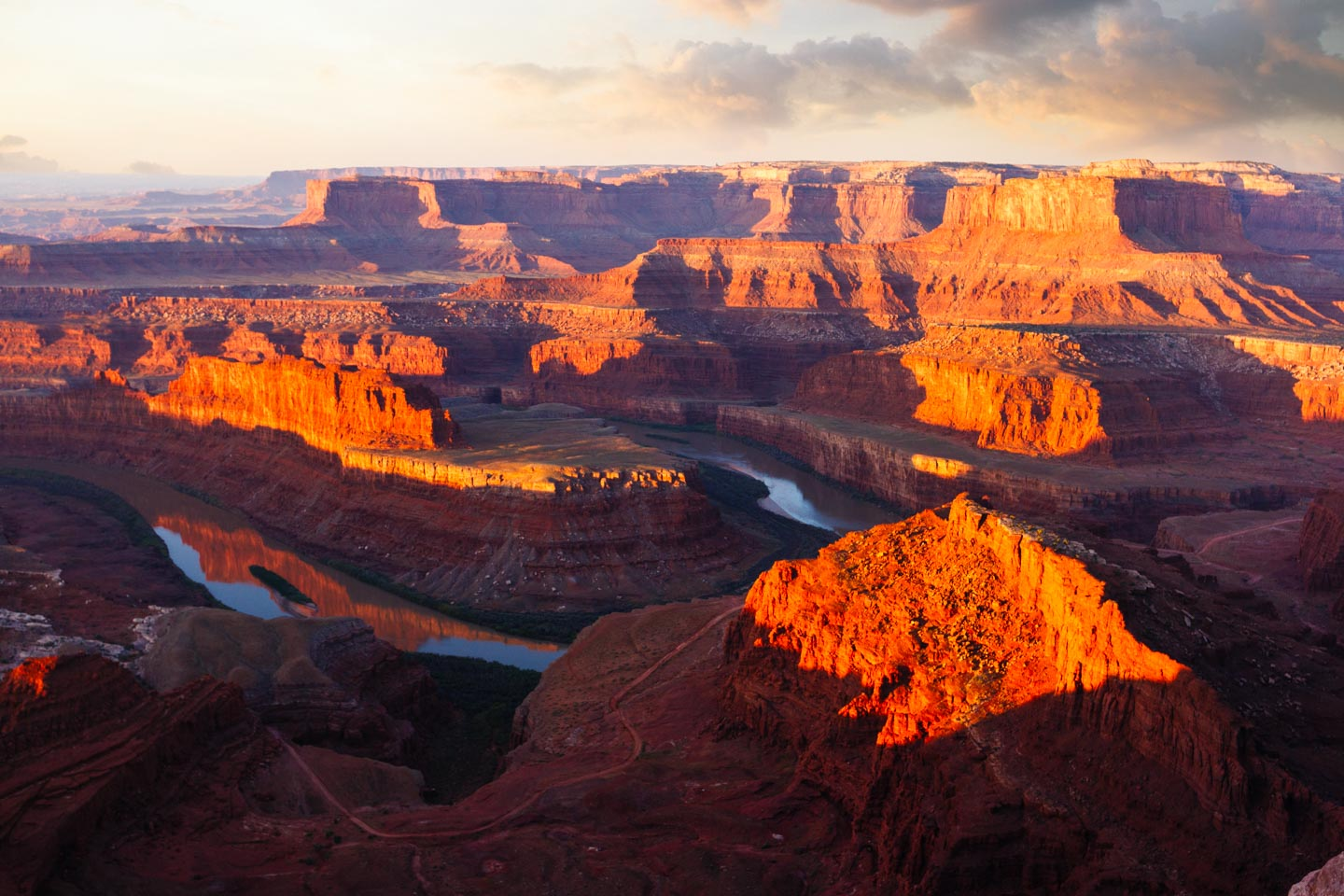dead horse point with Colorado River