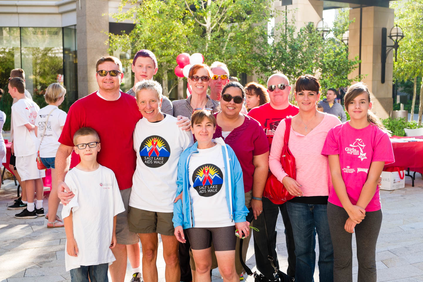 Different groups raised funds for the Utah AIDS Foundation