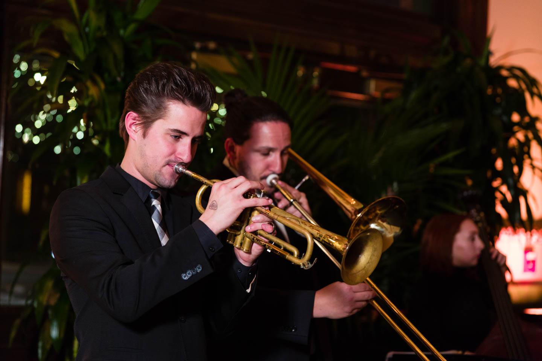 Trumpets and trombones