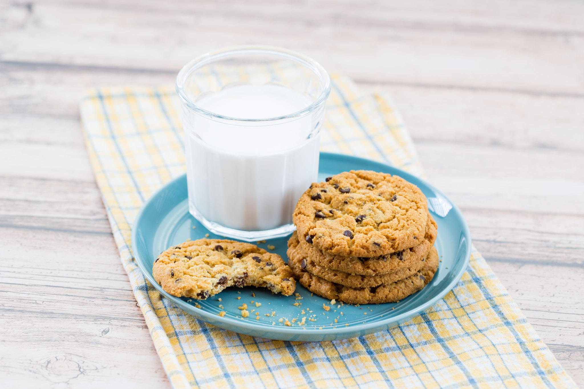 Cookies & Milk food photography
