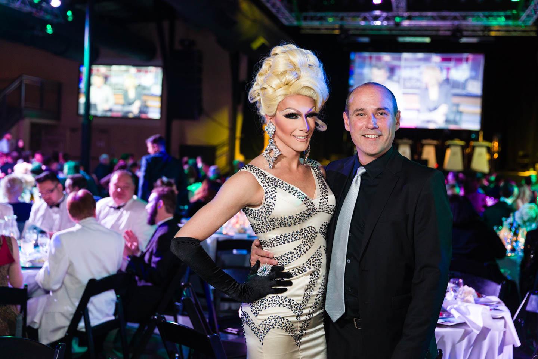 Local Drag Stars attend Oscar Night