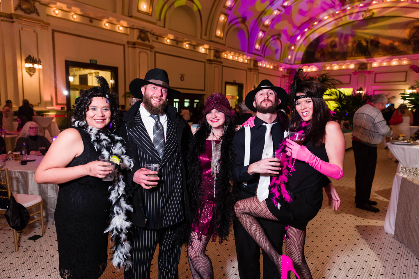The Great Gatsby themed party and costumes