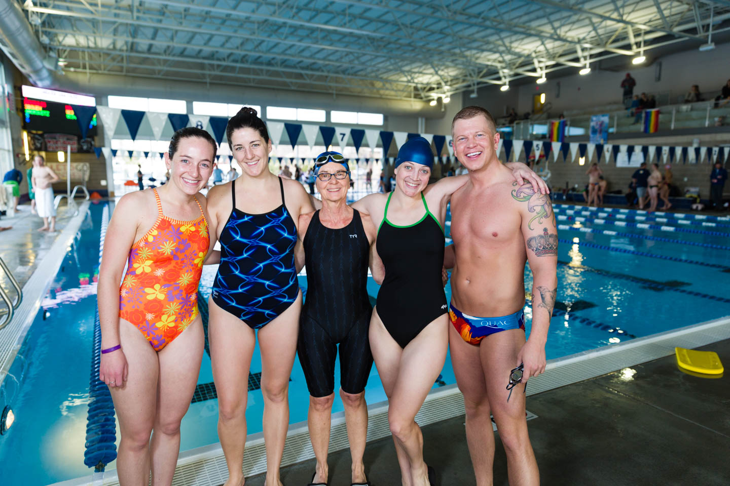 Swimmers come from around the state and from around the country for the Ski-n-Swim