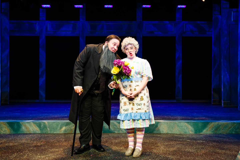 Brigham Young proposes at Saturday's Voyeur