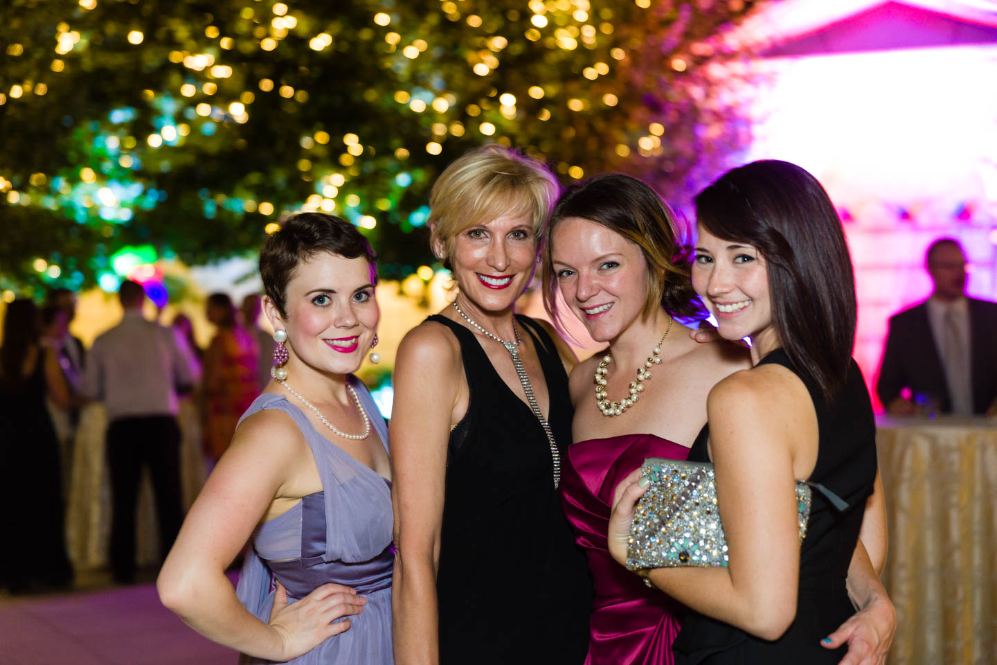 Fabulous gals at the after party