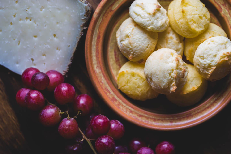 Brazilian pao de queijo