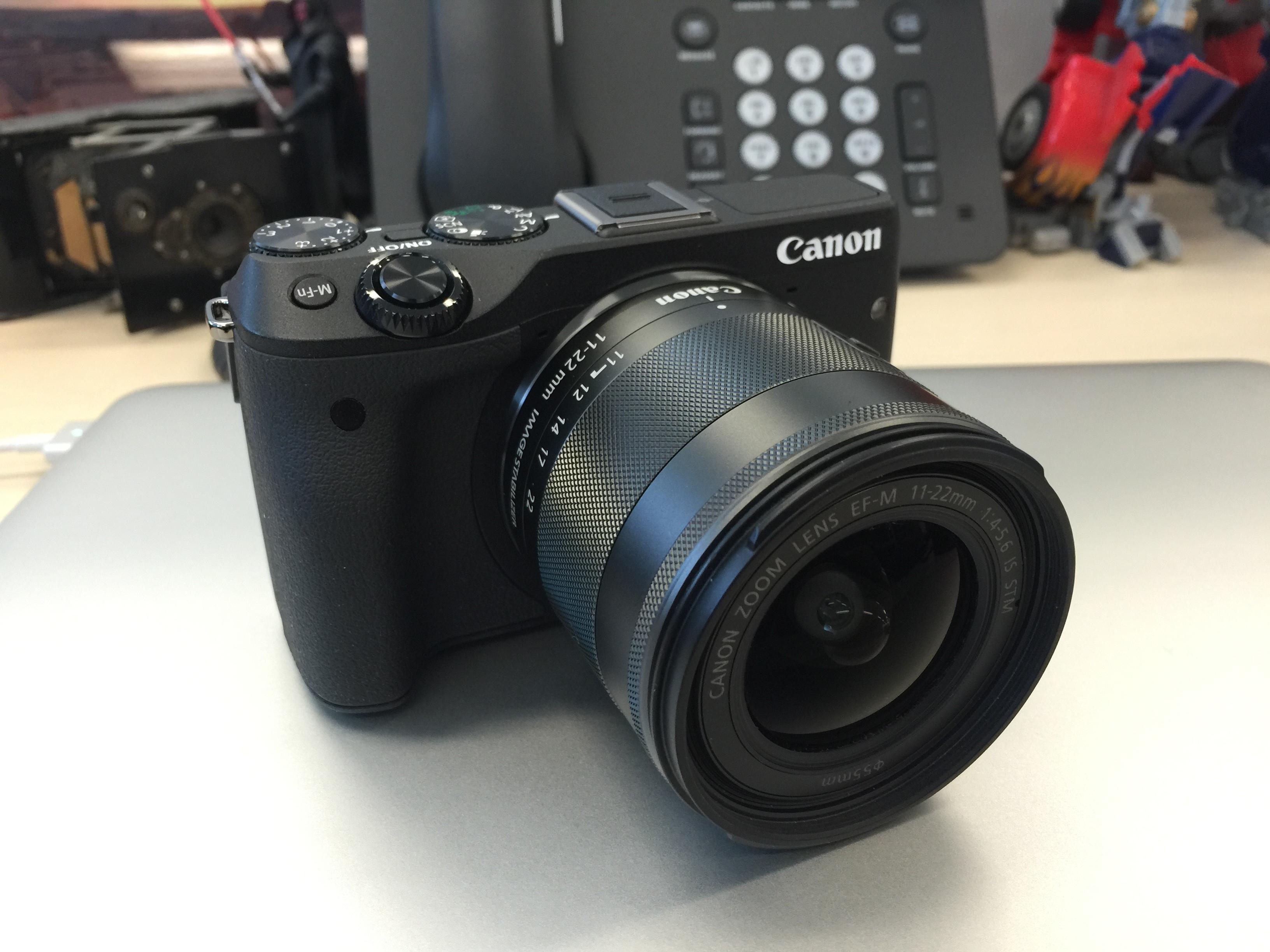 Canon EOS M3... a small camera