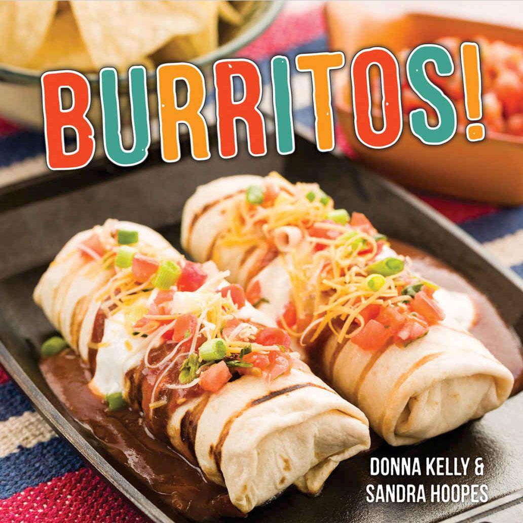Cover of the Burritos Cookbook