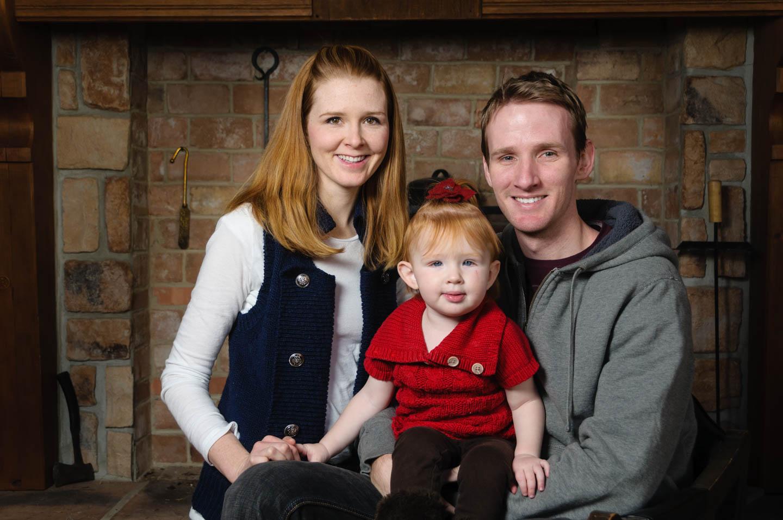 Family Portraits in a Sundance lodge