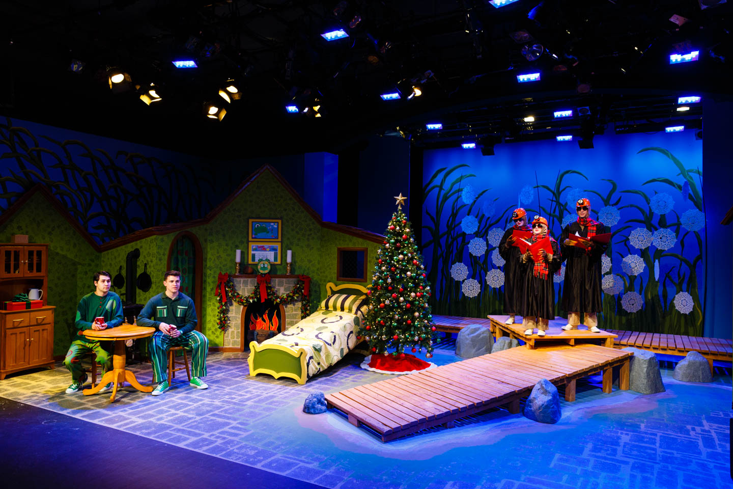 Christmas themed set for A Year with Frog and Toad