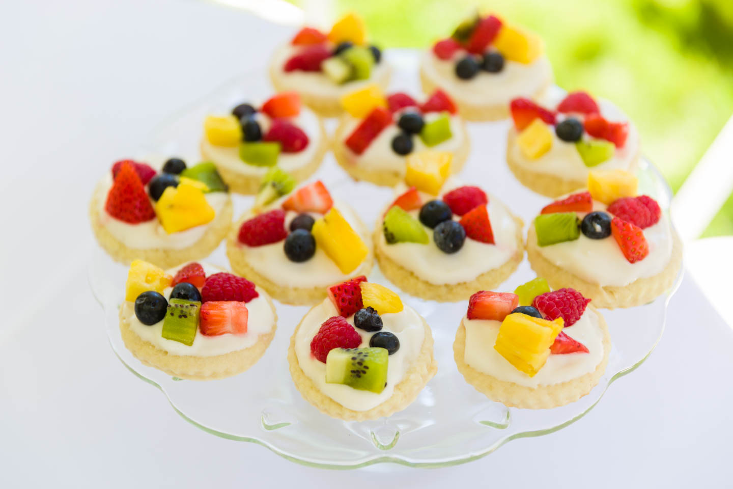 Fruit tart cookies
