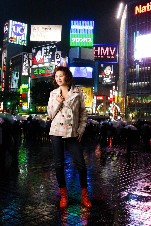 Photoshopped into Tokyo