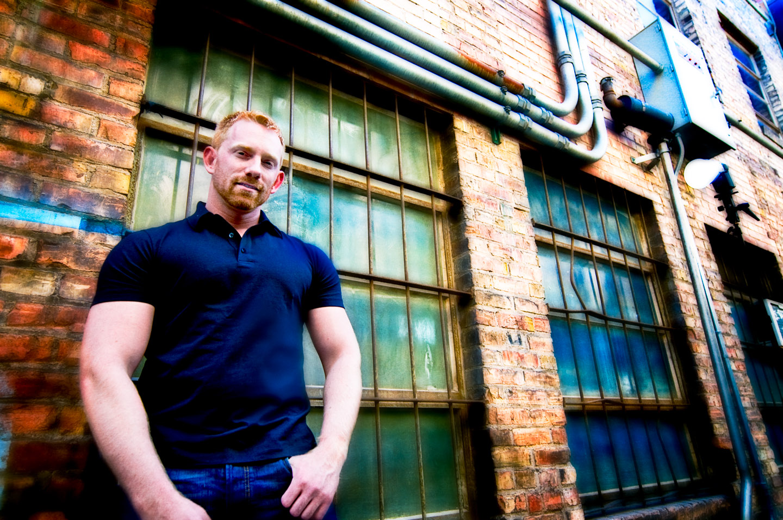 Portraits of Joel... in an alley
