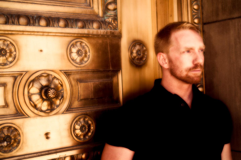 Joel at the Golden Doors of Salt Lake City