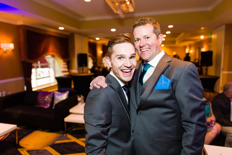 Preston & Frank celebrate their marriage